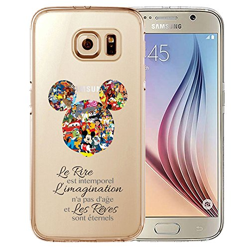 Coque Samsung Galaxy S7 Edge Disney: Amazon.fr