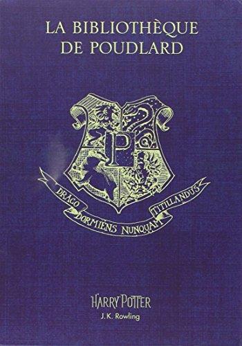 Coffret La bibliothèque de Poudlard : Le quidditch à travers les âges ; Les animaux fantastiques ; Les contes de Beedle le barde