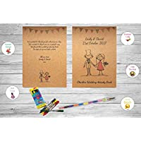 Personalised Childrens Kids Wedding Activity Pack Book Favour Cute AB12