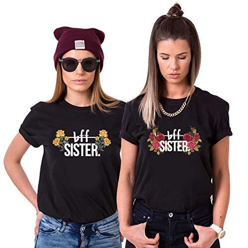 Best Friends T-Shirts für 2 Mädchen BFF