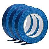 LARRY-X Blaues Abdeckband mit geringer Rückstandshaftung Professionelles blaues Malerband für alle DIY- und professionellen Malprojekte
