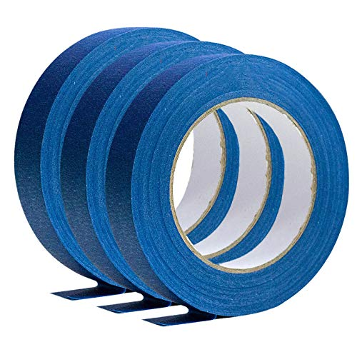 ZHAOHE Blaues Abdeckband Abnehmbares, mehrzweckfähiges blaues Malerband für Heimbüros oder gewerbliche Auftraggeber