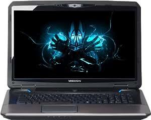 Medion Erazer X7825 43,9 cm (17,3 Zoll) Notebook (Intel Core i7 4700MQ, 2,4GHz, 3GB RAM, 1TB HDD, NVIDIA GF GT X770M, Win 8) schwarz