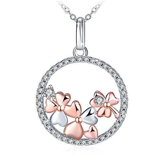 Muttertag Geschenk, Kette Damen, J.Rosée Schmuck Halskette Anhänger