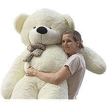Joyfay Marca oso de peluche gigante 200cm de la muñeca de juguete suave de la felpa de peluche oso de peluche de juguete Color blanco
