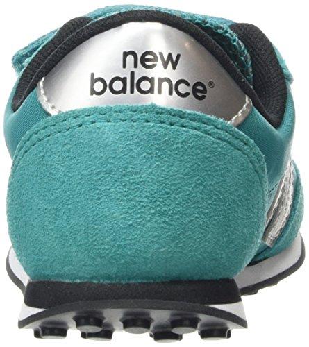 New Balance Ke410 Kids Lifestyle Velcro, baskets sportives fille bleu (Teal/Grey)