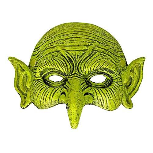 en Latex Halbmaske Halloween Hexenmaske Maske Hexe Horror Gruselig ()