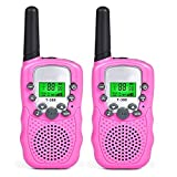 Top-Vigor walkie talkie per bambini Pink