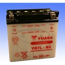 YUASA - YB7L-B2 Batería para las motocicletas