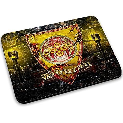 Escudo de armas colección 1, Custom adhesivo para MacBook piel de vinilo mangas de diferentes tamaños, neopreno, Coat of Arms Bhutan, Mouse Mat