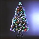Albero di Natale 'INCANTATO' luminoso con fibra ottica - 170 LED...