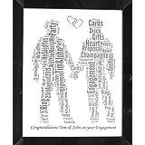 Personifizierter homosexueller Mann oder homosexueller weiblicher Wort-Kunst-Entwurf (G) Präsentiert in 8