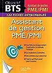 Fiches BTS Assistante de gestion PME/...