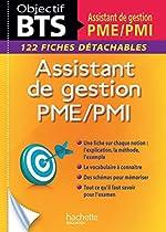 Fiches BTS Assistant de gestion PME/PMI de Claudette Champagne