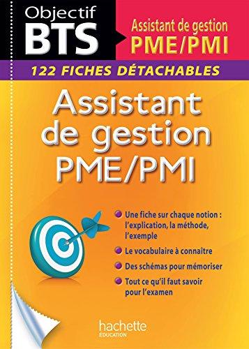Fiches BTS Assistant de gestion PME/PMI