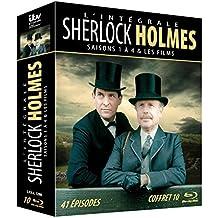 Intégrale Sherlock Holmes - Saisons 1 a 4 - Blu Ray