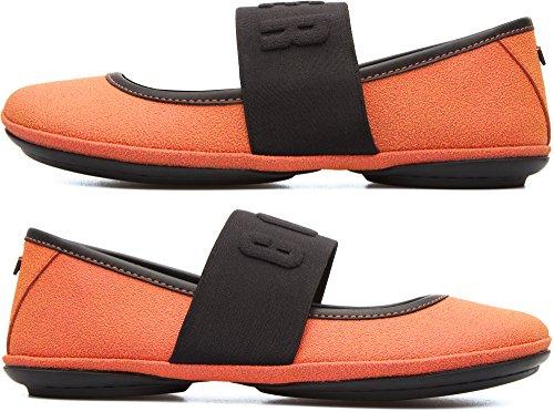 Camper Twins K200144-003 Plates Femme Orange