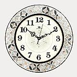 Clock.z Lying Modewanduhr, europäische Kunstuhr Mode kreative stille Uhr amerikanische Moderne minimalistische Wohnzimmer Wanduhr Finden (Farbe : C)