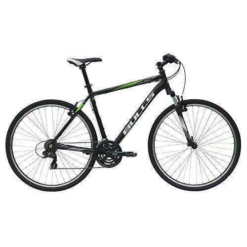Bulls Pulsar Cross 28 Zoll Crossbike 28' Cross Trekking Fahrrad 2017, Farbe:Schwarz;Rahmenhöhe:48 cm