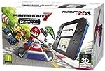 Nintendo 2DS Nero/Blu + Mario Kart 7...
