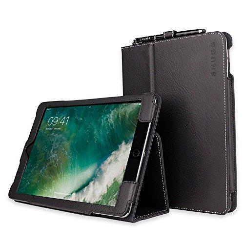 Snugg iPad Air 2 Hülle (Tiefstes Schwarz Smart Case Sleep/Wake Funktion