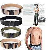 Hensych® Verstellbar Sport Gürtel Combat Rigger Militaria Militär Hochrutschen für Langlebig