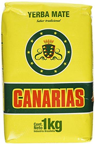 Yerba Mate Sabor Tradicional Canarias 1000 G.