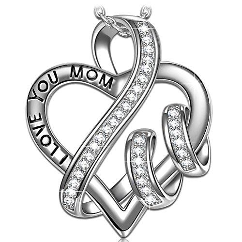 Susan y maglia del cuore collana donna con cristalli da swarovski gioielli regalo compleanno festa della mamma regalo san valentino regalo natale regali per lei amica anniversario moglie figlia