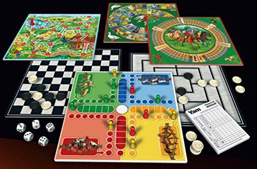 Schmidt–88207–Koffer-Spiel–100-Spielesammlung