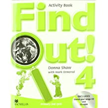 Find out 4 act pack (Songs CD+CDR) - 9781405078474