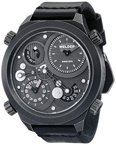 Welder Unisex-Armbanduhr Analog Quarz Leder K50 401
