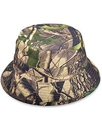b8dd16a1d7162 HNJZX Men s Bucket Hat Hunting Fishing Outdoor Games Bucket Camouflage Hat