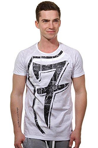 R-NEAL T-Shirt Rundhals slim fit Braun