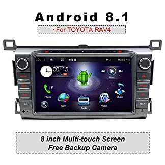 YUNTX-Autoradio-fr-TOYOTA-RAV4-2013-2015-Navigation-Can-Bus-integr-8-Zoll-LCD-Touchscreen-2GB-ROM-32GB-RAM-DAB-Untersttzung-USB-Octa-Core-WLAN-Bluetooth-MirrorLink-RDS