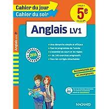 Cahier du jour/Cahier du soir Anglais 5e - Nouveau programme 2016