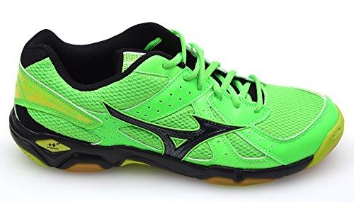 Mizuno Wave Twister 4 Chaussure Sport En Salle - AW15 Verde - Nero