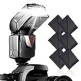 Speedlite Blitzgerät,SAMTIAN Kamera Blitz Speedlite für Canon Nikon Panasonic Olympus Pentax und andere DSLR-Kameras, Digitalkameras mit Standard-Blitzschuh