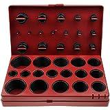 AlkanSurtido O-Ring de anillos de junta de 3-50 mm de diámetro, resistentes a aceites especiales, gasolina, y ácidos, 419piezas (en caja de almacenamiento y surtido)