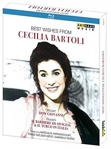 Best Wishes from Cecilia Bartoli [3 Blu-rays]