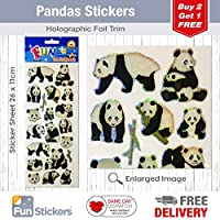 Fun Stickers Pandas 830