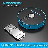 Vention HDMI Switch 3 Port - 3 Giriş 1 Çıkış - 1080p - 4K*2K - IR + Power