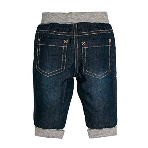 SALT AND PEPPER Baby-Jungen NB Jeans Fun Time Blau (Original 099), 68 -