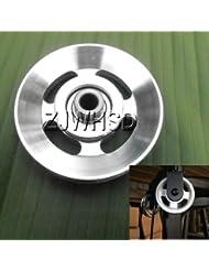Universal 88mm aluminio rodamientos rueda de polea para gimnasio Fitness ejercicio equipo de repuesto Abbott