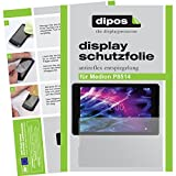 dipos I 2X Schutzfolie matt passend für Medion P8514 Folie Bildschirmschutzfolie