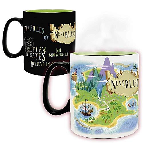 Peter Pan - Nimmerland - XXL Farbwechsel-Tasse | offizielles Merchandise von Walt Disney