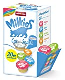 animonda Milkies Multipack, Katzenmilch portioniert, Selection, 20 Cups x 15 g