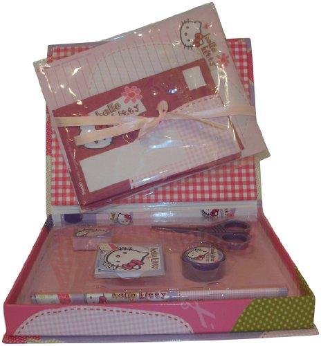 Imagen principal de Hello Kitty - HER50190 - escuela - Caja Mini lleno Secretario - PEN - borrador - Libro [Importado de Francia]
