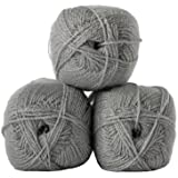 Twinkle Fashion DK Double Knitting Wool 100g Glitter Yarn James Brett (Silver...