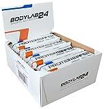 Bodylab24 Protein Waffel, Geschmack Schokolade, proteinreiche Waffeln, leckere Nahrungsergänzung für Fitness, Bodybuilding und Diät, 16 x 40g Packung