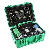 5in LCD Fusionadora de Fibra Óptica de Alta Precisión para SM, MM, NZDS, con Cuchilla de Fibra Óptica y Función de Enfoque Automático (Verde/Naranja)(Verde)